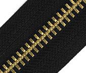 Zíper de metal 10 extragrosso dourado  YKK ref. 10 MG CH por metro