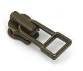 Cursor para zíper de metal 03 fino YKK ref. 03 M DADHR5 I ouro velho c/ 1 un
