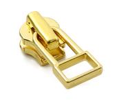 Cursor para zíper de metal 04.5 médio YKK ref. 45Y DADHR5  O dourado claro c/ 1 un