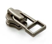 Cursor para zíper de metal 04.5 médio YKK ref. 45 Y DADHR5 V7 oxidado preto c/ 1 un