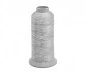 Linha metalizada para bordado Coats ref. Sylko Metallic 120 c/ 3000 m