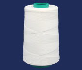 Linha de poliéster para costura Setta ref. Xik 25 branca c/ 2500 j