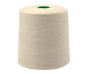Linha de algodão para costura Bonfio ref. 16 natural c/ 5000 m