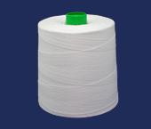 Linha de algodão para costura Bonfio ref. 16 branca c/ 5000 m