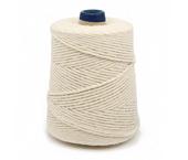 Barbante de algodão cru Bandeirantes ref. 4/16 c/ 700 g