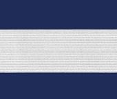 Elástico de embutir Zanotti ref. Moleton branco c/ 25 m