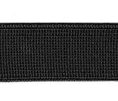 Elástico de embutir Zanotti ref. Papoula preto c/ 25 m
