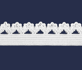 Elástico decorado 14 mm Estrela ref. Bergamo c/ 50 m