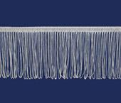 Franja de viscose branca 100 mm São José ref. 7750/BC c/ 10 m