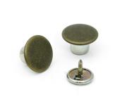 Botão fixo de ferro 14 mm Eberle ref. BT2.140.75.F c/ 250 un