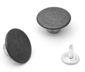 Botão fixo de latão 17 mm Eberle ref. BT2.170.90.L c/ 250 un