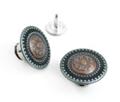 Botão flexível de latão 17 mm Eberle ref. BT1.170.90.VZ08.2L c/ 250 un