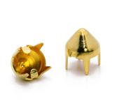 Enfeite de latão dourado Eberle ref. GR.060.085.CN.L c/ 1000 un