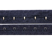 Cadarço de sarja c/ colchetes Terlizzi ref. S 220 SJ c/ 20 m