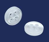 Botão para costurar branco Corozita ref. 1139 c/ 144 un