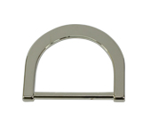 Porta alça de metal 35 mm Toscana ref. 1508/35 NI c/ 1 un
