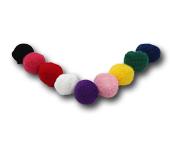 Pompom crochet 20 mm Britânnia ref. 9043/1 c/ 10 un