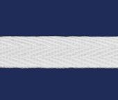 Cadarço de algodão Haco ref. 40 branco c/ 50 m