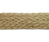 Cordão sisal trançado Morbin cor natural 25 mm ref. 132.122 por metro