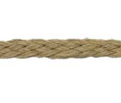 Cordão sisal trançado Morbin cor natural 9 mm ref. 53-81 por metro