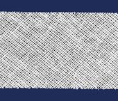 Viés de algodão liso Destaque ref. Aberto 30 mm c/ 100 m