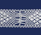 Renda de algodão 055 mm Ipiranga ref. 509 c/ 10 m