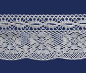 Renda de algodão 070 mm Ipiranga ref. 580 c/ 10 m