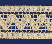 Renda de algodão 032 mm FB ref. B511 c/ 30 m
