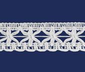Renda de algodão 020 mm FB ref. B545 c/ 30 m