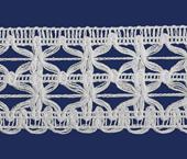 Renda de algodão 034 mm FB ref. B546 c/ 30 m