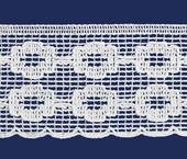 Renda de algodão 040 mm FB ref. B562 c/ 30 m