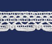 Renda de algodão 016 mm FB ref. B801 c/ 30 m