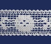 Renda de algodão 055 mm FB ref. B826 c/ 30 m