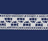 Renda de algodão 025 mm FB ref. B876 c/ 30 m