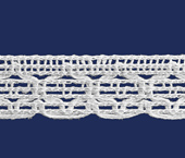 Renda de algodão 015 mm FB ref. B884 c/ 30 m