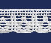 Renda de algodão 015 mm FB ref. B890 c/ 30 m