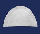 Ombreira de poliéster Pegorari ref. 0.E.3 c/ 50 pares
