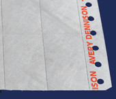 Etiqueta para impressora matricial Dennison ref. Tyvek