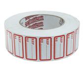 Etiqueta adesiva manual para preço/ref. Reidma c/ 20 m