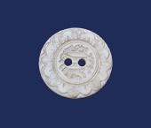 Botão italiano madrepérola Aquarela ref. 15385-36 c/ 06 un