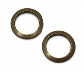 Argola de metal 07 mm Terlizzi ref. 107 c/ 100 un
