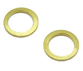 Argola de metal 07 mm Terlizzi ref. 107 dourado c/ 100 un