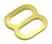 Regulador de metal 07 mm Terlizzi ref. 117 dourado c/ 100 un