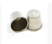Dedal metálico para costureira Kas Maq ref. N°6 c/ 1 un