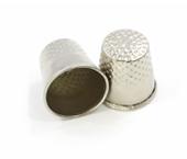Dedal metálico para costureira Kas Maq ref. N°7 c/ 1 un