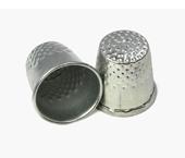 Dedal metálico para costureira Kas Maq ref. N°10 c/ 1 un