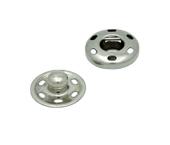 Colchete pressão p/ costurar de latão 12 mm Lulitex c/ 24 un