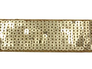 Galão de paetê 42 mm Lulitex ref. GP40347 c/ 13,7 m