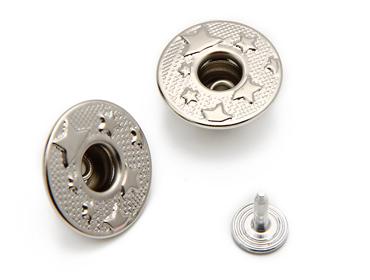 Botão flexivel de latão 20 mm Eberle ref. BT1.200.90.VZ.LHT c/ 250 un