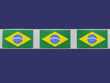 Galão Bandeira simples 20 mm c/ 20 m